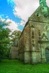 Château - Façade de l'entrée et vue latérale, Chapelle castrale, Pagny-le-Château (Côte d'Or, Bourgogne, France)