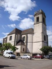 Eglise - English: Pommard (Côte d'Or, Fr) église