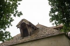 Pigeonnier proche du château - English: Details of pigeon loft of Château de Posanges, France. Monument historique.