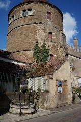 Château - Tour de l'Orle d'Or du château de Semur-en-Auxois Côte-d'Or Bourgogne-Franche-Comté