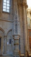 Eglise (collégiale) Notre-Dame - Ciborium de la collégiale à Semur-en-Auxois, Côte d'Or, France