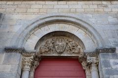 Eglise Saint-Florent - Extérieur de l'église Saint-Florent-et-Saint-Honoré de Til-Châtel (21).