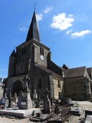 Eglise Saint-Germain d'Auxerre - Église Saint-Germain-d'Auxerre à Vitteaux, Côte d'Or, France