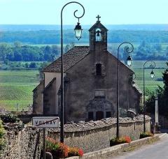Cimetière - Português: Volnay, côte de Beaune, Borgonha. França