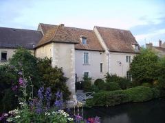 Couvent des Augustins - Français:   Façade (côté Nohain) de l\'ancien couvent des Augustins qui abrite le musée de la Loire.