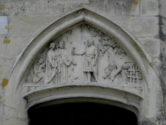 Palais Ducal - Palais ducal de Nevers (58). Bas-relief.
