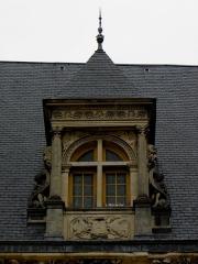Palais Ducal - Palais ducal de Nevers (58). Lucarne.