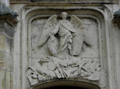 Palais Ducal - Français:   Palais ducal de Nevers (58). Bas-relief.