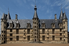 Palais Ducal -  Palais ducal de Nevers.