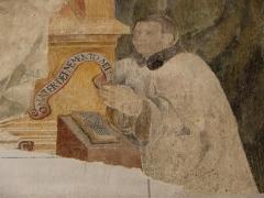 Eglise Saint-Amand - Français:   Peinture murale de l\'église Saint-Amand de Saint-Amand-en-Puisaye (58).