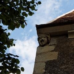 Eglise -  Vue de l'église de Sainte-Colombe des Bois.