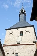 Tour du beffroi - Deutsch: Altstadt mit dem Uhrturm Beffroi  in BOURBON-LANCY