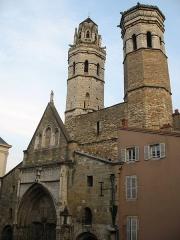 Cathédrale Saint-Vincent -  cathédrale du Vieux Saint-Vincent - Mâcon (Saône-et-Loire)