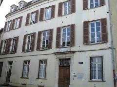 Hôtel de Lamartine - Français:   Mâcon - Hôtel de Lamartine - Façade sur la rue Bauderon de Senecé