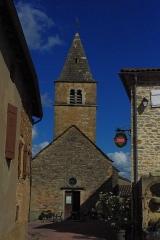 Eglise Saint-Jacques-le-Majeur -  Église de Milly-Lamartine (71)
