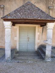 Eglise -  Rosey (Saône-et-Loire, Fr) church portal