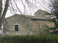 Chapelle Saint-Laurent - English: Overview of the chapel of Saint-Laurent in Tournus (Saône-et-Loire, France).