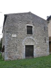 Chapelle Saint-Laurent - English: Facade of the chapel of Saint-Laurent in Tournus (Saône-et-Loire, France).