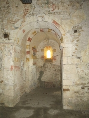 Chapelle Saint-Laurent - English: Apse of the chapel of Saint-Laurent in Tournus (Saône-et-Loire, France).