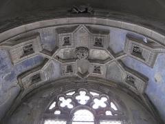Eglise de la Madeleine - English: Ceiling of the chapel of Mary Magdalene, inside the the church Sainte-Madeleine in Tournus (Saône-et-Loire, France).