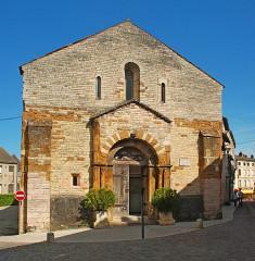 Eglise Saint-Valérien - Français:   France - Bourgogne - Saône-et-Loire - Tournus - église Saint-Valérien
