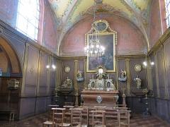 Hôtel Dieu - English: Chapel of the Hôtel-Dieu in Tournus (Saône-et-Loire, France).