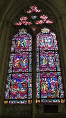 Abbaye Saint-Germain - Intérieur de l'Abbatiale Saint-Germain d'Auxerre
