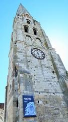 Abbaye Saint-Germain - tour Saint-Jean, Abbatiale Saint-Germain d'Auxerre