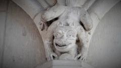 Ancienne cathédrale Saint-Etienne - chapiteau dans la Cathédrale Saint-Étienne, Auxerre