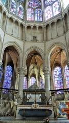 Ancienne cathédrale Saint-Etienne - chœur de la Cathédrale Saint-Étienne, Auxerre