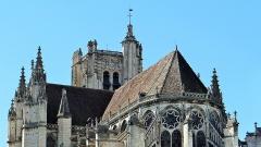 Ancienne cathédrale Saint-Etienne - Cathédrale Saint-Étienne d'Auxerre