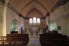 Eglise Saint-Jean-Baptiste - Nederlands: Chassignelles (departement Yonne, Frankrijk): interieur van de Sint-Jan-de-Doperkerk
