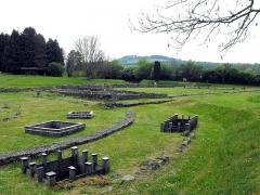 Ruines gallo-romaines des Fontaines Salées (également sur commune de Saint-Père) - Deutsch:   Die keltische und gallo-römische Kultstätte der salzigen Quellen bei Vézelay