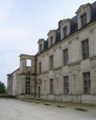 Ancien château des Comtes de Gondi - Français:   Château des Gondi à Joigny (Yonne)