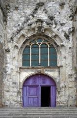 Eglise Saint-Jean - Français:   Porche de l\'église Saint-Jean à Joigny, Yonne, Bourgogne, France