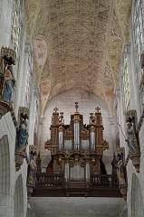 Eglise Saint-Jean - Français:   Plafond- et orgue de l\'église Saint-Jean à Joigny, Yonne, Bourgogne, France