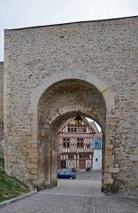 Porte Saint-Jean - Français:   Porte Saint-Jean à Joigny, Yonne, Bourgogne, France