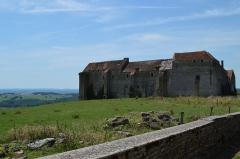 Maison-forte - Français:   Cliché de la façade Est du château de Pisy réalisé en juillet 2014.