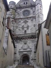 Eglise Saint-Florentin - Français:   portail nord de l\'église