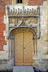 Ancien archevêché ou ancien palais archiépiscopal - Français:   Ancien Palais des archevêques de Sens , Yonne, Bourgogne, France