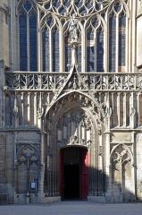 Cathédrale Saint-Etienne - Porche sud de la cathédrale de Sens, Yonne, Bourgogne,France