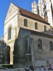 Eglise de la Basse-Oeuvre - English: The church Notre-Dame-de-la-Basse-Œuvre of Beauvais