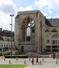 Ancienne église Saint-Barthelemy - English: Beauvais, the ruins of the church Saint-Barthélemy
