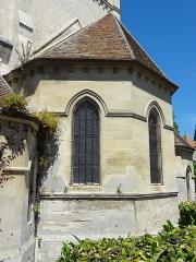 Eglise de la Sainte-Trinité -  Abside.