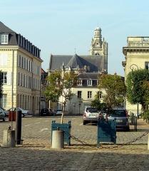 Eglise Saint-Jacques - English: Compiègne, view to the church Saint-Jacques