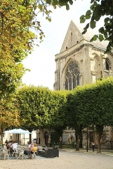 Eglise Saint-Jacques - English: Compiègne, the church Saint-Jacques de Compiègne