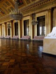 Palais et ses abords - Salle de bal du château de Compiègne (60).