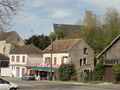 Eglise et cimetière qui l'entoure -  Église Saint-Pierre de Duvy (voir titre).