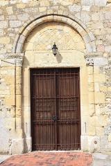 Eglise - Français:   Le Fay-Saint-Quentin - Eglise Saint-Laurent, porte Sud