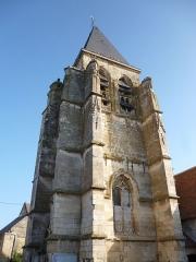 Eglise Saint-Eloi - Français:   Église Saint-Éloi de Léglantiers (Oise), monument historique